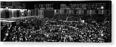 Grayscale Panoramic View Of Chicago Acrylic Print by Panoramic Images