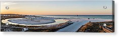 Grayton Beach Dawn Panorama Acrylic Print