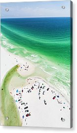 Grayton Beach Hang Time Acrylic Print