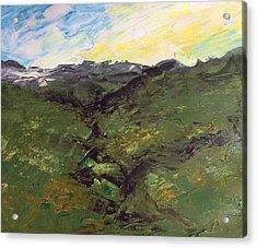 Grazing Hills Acrylic Print