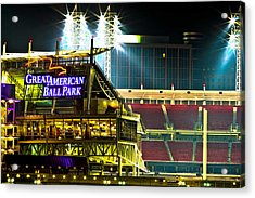 Great American Ballpark Acrylic Print