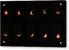 Great American Eclipse 2017 Acrylic Print