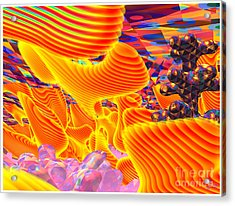 Great Art 3a Acrylic Print by Terry Anderson