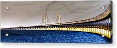 Acrylic Print featuring the photograph Great Belt Bridge by Gert Lavsen