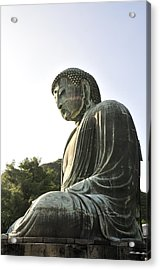 Great Buddha Of Kamakura Acrylic Print by Andy Smy