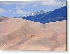 Great Colorado Sand Dunes Acrylic Print by James BO  Insogna