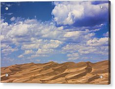 Great Colorado Sand Dunes Mixed View Acrylic Print by James BO  Insogna