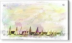 Great Day For Sailing 2 Acrylic Print
