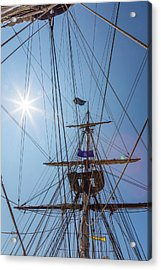 Acrylic Print featuring the photograph Great Day To Sail A Tall Ship by Dale Kincaid