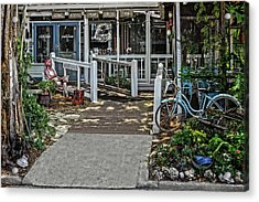 Acrylic Print featuring the photograph Great Eats At The Fishing Camp  -  Fishrestaurant120933 by Frank J Benz