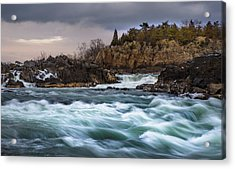 Great Falls Virginia Acrylic Print