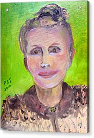 Great Grandmother Adora Acrylic Print by Patricia Taylor