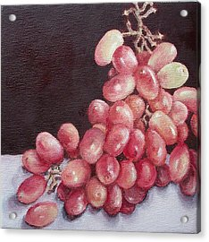 Great Grapes 2 Acrylic Print by Irene Corey