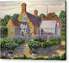 Great Houghton Cottage Acrylic Print