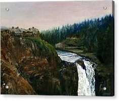 Great Northern Acrylic Print by Delaney Davis