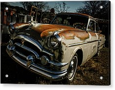 Acrylic Print featuring the photograph Great Old Packard by Marilyn Hunt