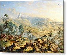 Great Peak Of The Amatola-british-kaffraria  Acrylic Print by Thomas Baines