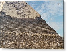 Acrylic Print featuring the photograph Great Pyramid Of Giza by Silvia Bruno