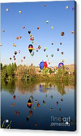 Great Reno Balloon Races Acrylic Print