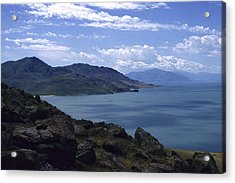 Great Salt Lake Acrylic Print by Todd Kreuter
