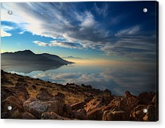 Great Salt Lake Utah Acrylic Print
