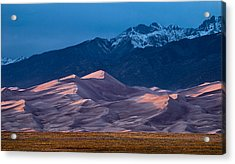 Great Sand Dunes  Colorado Acrylic Print by Steve Gadomski