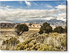Great Sand Dunes National Park And Preserve Acrylic Print