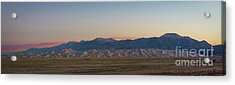 Great Sand Dunes Sunrise Acrylic Print