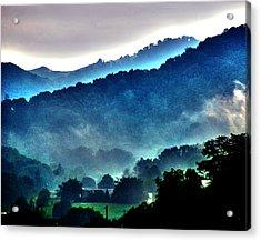 Great Smokey Mountains Acrylic Print by Susanne Van Hulst