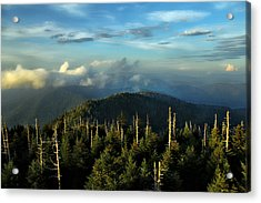 Great Smokies Acrylic Print by Jessica Brawley