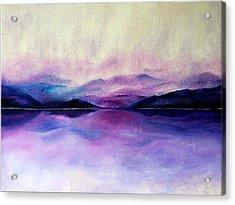 Great Smoky Lakeside Acrylic Print