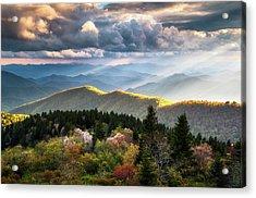 Great Smoky Mountains National Park - The Ridge Acrylic Print