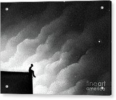 Great Strength Through Silence Acrylic Print