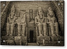 Great Temple Abu Simbel  Acrylic Print