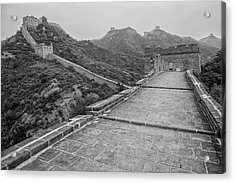 Acrylic Print featuring the photograph Great Wall 5, Jinshanling, 2016 by Hitendra SINKAR