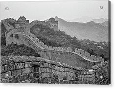 Great Wall 7, Jinshanling, 2016 Acrylic Print by Hitendra SINKAR