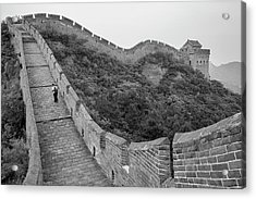 Acrylic Print featuring the photograph Great Wall 9, Jinshanling, 2016 by Hitendra SINKAR