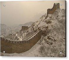 Great Wall Acrylic Print by James Lukashenko
