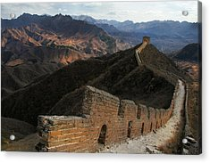 Great Wall Of China Acrylic Print