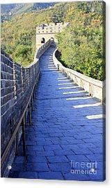 Great Wall Pathway Acrylic Print by Carol Groenen