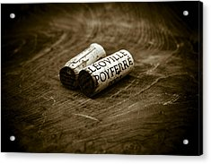 Great Wines Of Bordeaux - Chateau Leoville Poyferre Acrylic Print by Frank Tschakert
