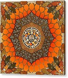 Great Wood Acrylic Print by Isobel  Brook Haslam