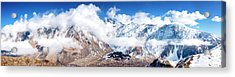 Acrylic Print featuring the photograph Greater Caucasus by Fabrizio Troiani