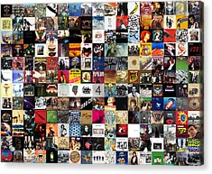Greatest Rock Albums Of All Time Acrylic Print