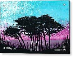 Grecian Sunset Acrylic Print