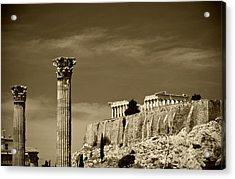 Greece Of Dreams Acrylic Print by Pavlos Euthymiou