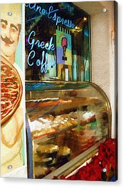 Greek Coffee Acrylic Print