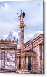 Acrylic Print featuring the photograph Greek God by Linda Constant