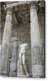 Acrylic Print featuring the photograph Greek Statue by Patricia Hofmeester