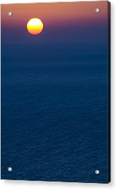 Greek Sunset Acrylic Print